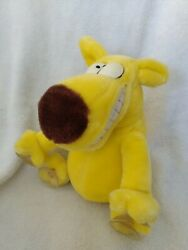Vintage 1987 Mother Goose And Grimm And The 24k Company Plush Grimmy 8 Suction