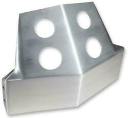 Speed Merchant Brushed Aluminum Skid Plate - 06-15 Harley Dyna Fxd Fxdb Raw
