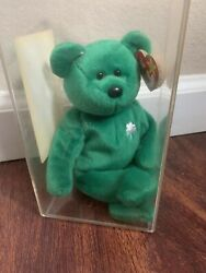 Rare Ty Beanie Baby Erin The Bear 1997. Limited Edition With 2 Major Errors