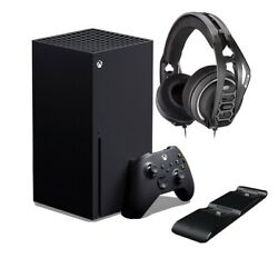 Microsoft Xbox Series X 1tb Pro Gaming Bundle Headset And Charger Dock Included
