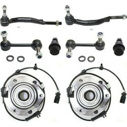 New 4wd 4x4 Set Of 8 Front Driver And Passenger Side For Chevy Olds Lh Rh Envoy Xl