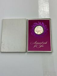 1970 Leo Coin/medallion Franklin Mint Card By Gilroy Roberts