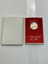 1970 Rie Coin/medallion Franklin Mint Card By Gilroy Roberts