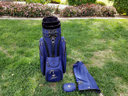 New Orleans Saints San Diego Chargers Drew Brees Player Used Callaway Golf Bag
