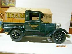 Jim Beam 1929 Ford Model A Pickup Truck Parkwood Supply Decanter