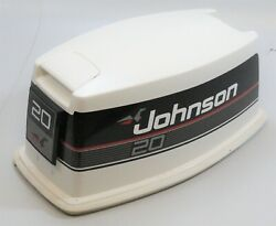 435150 Johnson Evinrude 1992-95 Top Cowling Engine Cover Hood 20 25 30 Hp