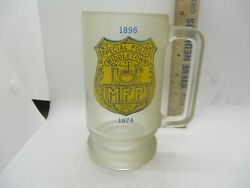 Middletown Ny Special Police Beer Stein Mug 1974