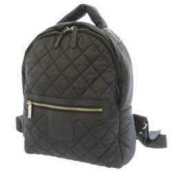 Backpack Cocococoon Matelasse Coco Mark A92559 Bag Black Peace No.7398