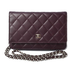 Brand Bag Long Wallet Chain Shoulder A33814 Previously Owned No.7529