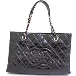 Chain Coco Mark Matelasse Tote Bag Women 's Previously Owned No.7724