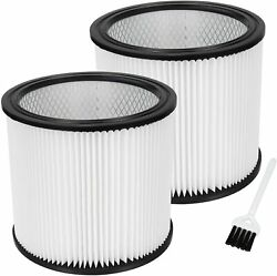 90304 Cartridge Filter Fit With Shop-vac 90333 Wet/dry Vacuum Cleaners2 Pack)