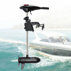 Hangkai 45lbs Electric Outboard Trolling Motor Boat 12v Boat Engine Complete
