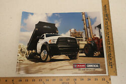 2013 13 Dodge Ram Truck 3500 4500 5500 16 Pg Sales Brochure Chassis Cab Br140