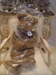 Boyds Hobson Hugmeister Qvc Exclusive Huge Bear New In Plastic Bag Rare Find