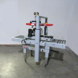 3m-matic 800a Adjustable Case Sealer Top And Bottom Interpack 2 Tape Heads 39600