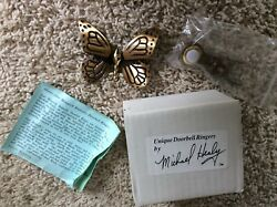 Michael Healy Designs Doorbell Ringer Monarch Butterfly Mhr17 New In Box