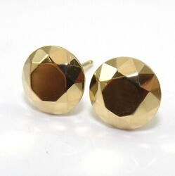 And Co Elsa Peretti 18k Yellow Gold 2 Carat Faceted Stud Earrings Ljf3