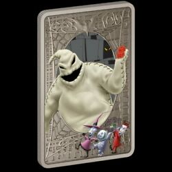 The Nightmare Before Christmas Oogie Boogie Silver 1oz Coin