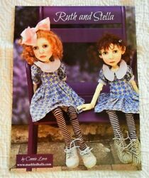 Original Full Page Color Advertisement Connie Lowe Ruth And Stella Bjd Dolls