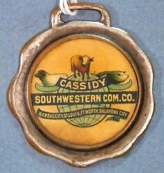 Cassidy Sw Livestock Commission Co Ft Worth St Louis Ok Kc...watch Fob X2