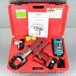 Burndy Patcut245cual-18v Battery-operated Cable Cutter