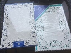 New In Package Vintage 10 X 14 Paper Doilies - 32 Total Williams Sonoma
