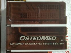 Osteomed Canulated System 3.0/4.0mm