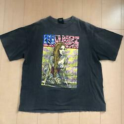 Rouge Chaud Chili Peppers 90s Vintage 1992 T-shirt Taille Xl