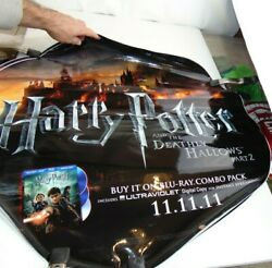Harry Potter And The Deathly Hallows Part 2 Movie Vinyl Banner Poster Oval 28x26
