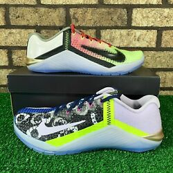 🥇 Nike Metcon 6 Ck9387-706 And039what Theand039 Crazy Multi-colored Workout Shoes 🥇