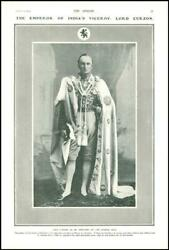 1903 Portraits Emperor Of India Viceroy Lord Curzon Of Kedleston 47