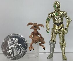 Star Wars 30th C-3po And Salacious Crumb 3.75andrdquo Figure 99 Complete 30 Tac Coin