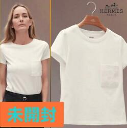 Hermes Micro Embroidery Pocket T-shirt From Japan No.7126