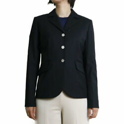 Hermes Women And039s Jacket 7000990000 Black Size 40 Free Shipping No.6102