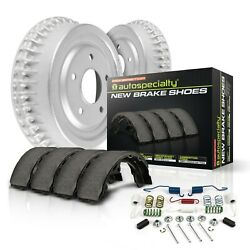 Koe15275dk Powerstop New Brake Drum And Shoe Kits 2-wheel Set Rear For Chevy