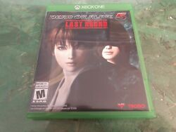 Xbox One - Dead Or Alive 5 - Last Round - Comes With Manual And Case