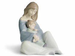 Nao By Lladro The Greatest Bond 1554 Mother And Baby Boy Love New In Box