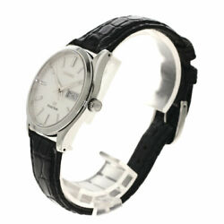 Seiko Sbgt003 9f839a00 Grand Wristwatch Stainless Steel Leather Mens No.9722