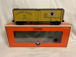 ✅lionel Northern Pacific Steel Side Reefer Car O Scale Refrigerator Train