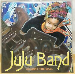 Juju Band - Against The Wall / 90and039s Korea Rock Music Lp New Sealed K-pop Vinyl