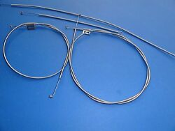 1957-57 Chevrolet Bel Air 210 150 Heater Control Cables-set Of 4-stainless-new