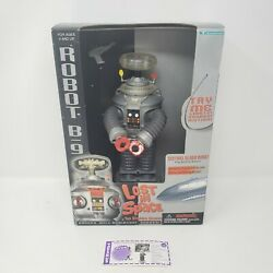 Lost In Space B-9 Robot Action Figure Lights Sound Motion Trendmasters 1997 New