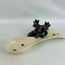 Big Sky Carvers Moose Spoonrest Mountain Mooses Phyllis Driscoll 53008 In Box