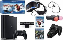 Playstation Console 4vr Holiday Bundle - Ps4 Slim 1tb Wireless Controller