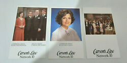 Lorraine Bayly Tv Fan Cards Carsons Law Kevin Miles Group Shot 3 Cards