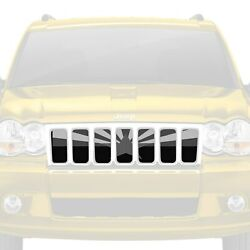 For Jeep Grand Cherokee 05-10 Main Grille 1-pc Tactical Arizona State Flag Style
