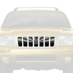 For Jeep Grand Cherokee 98-04 Main Grille 1-pc Tactical Arizona State Flag Style