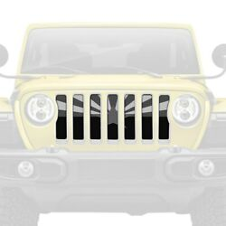 For Jeep Gladiator 20 Main Grille 1-pc Tactical Arizona State Flag Style