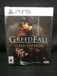 Greedfall Gold Edition Playstation 5 / Ps5 Brand New