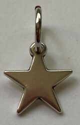 James Avery Sterling Silver Star Charm